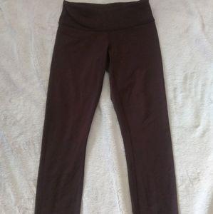 Lululemon maroon leggings size 2
